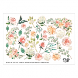 Virágos | A6 matrica