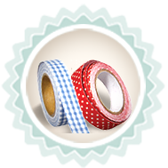 Washi tape , paper tape