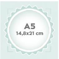A5 14,8x21 cm
