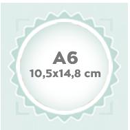A6 10,5x14,8 cm