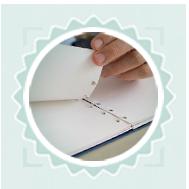 Notebook betétlap