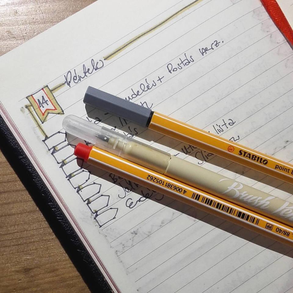 Ecsetfilc és Bullet Journal | Scrapbook Webáruház