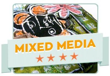 Mixed media technika
